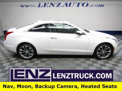 2016 Cadillac ATS for sale at LENZ TRUCK CENTER in Fond Du Lac WI