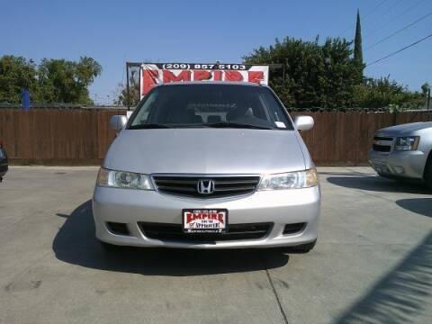 2002 Honda Odyssey for sale at Empire Auto Sales in Modesto CA