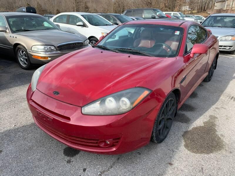 2008 Hyundai Tiburon for sale at Best Buy Auto Sales in Murphysboro IL
