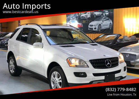 2006 Mercedes-Benz M-Class for sale at Auto Imports in Houston TX