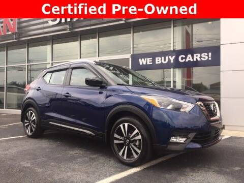 2020 Nissan Kicks for sale at SIMMONS NISSAN INC in Mount Airy NC