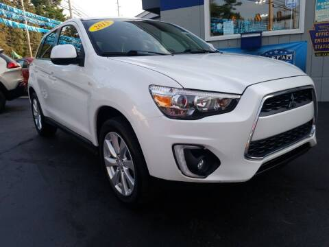 2015 Mitsubishi Outlander Sport for sale at Fleetwing Auto Sales in Erie PA