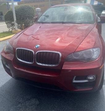 2013 BMW X6 for sale at Navarro Auto Motors in Hialeah FL