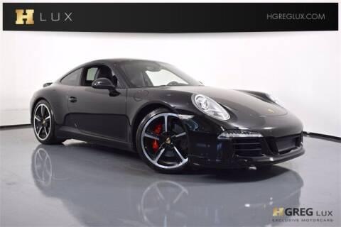 2014 Porsche 911 for sale at HGREG LUX EXCLUSIVE MOTORCARS in Pompano Beach FL