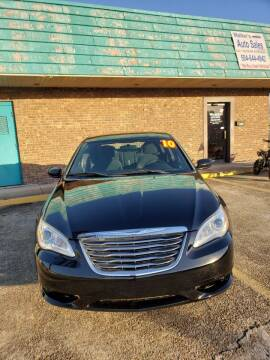 2012 Chrysler 200 for sale at Walker Auto Sales and Towing in Marrero LA