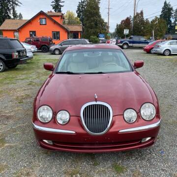 2000 Jaguar S-Type for sale at Road Star Auto Sales in Puyallup WA