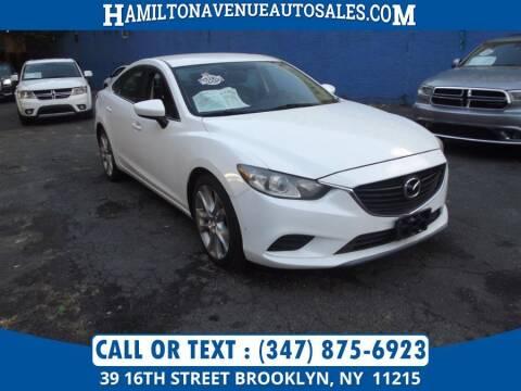 2014 Mazda MAZDA6 for sale at Hamilton Avenue Auto Sales in Brooklyn NY
