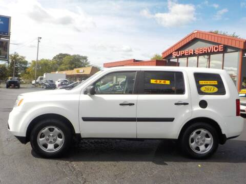 2013 Honda Pilot for sale at Super Service Used Cars in Milwaukee WI