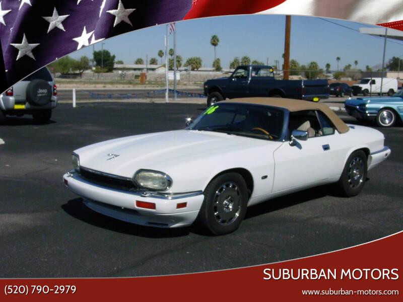 1996 Jaguar XJ-Series for sale at Suburban Motors in Tucson AZ