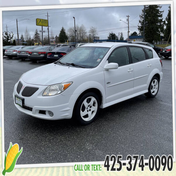 2006 Pontiac Vibe for sale at Corn Motors in Everett WA