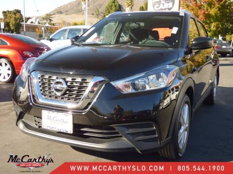 2019 Nissan Kicks for sale at McCarthy Wholesale in San Luis Obispo CA