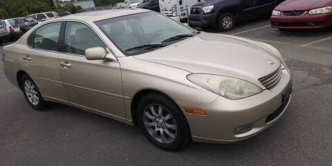 2002 Lexus ES 300 for sale at JG Motors in Worcester MA