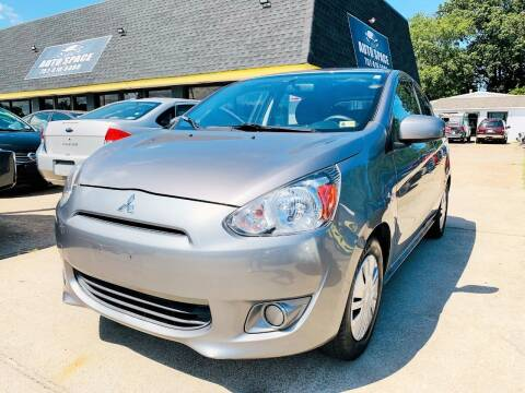 2015 Mitsubishi Mirage for sale at Auto Space LLC in Norfolk VA