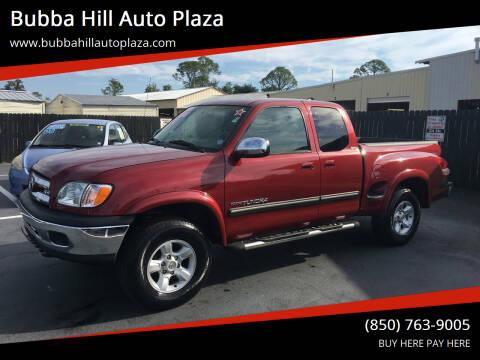 2004 Toyota Tundra for sale at Bubba Hill Auto Plaza in Panama City FL