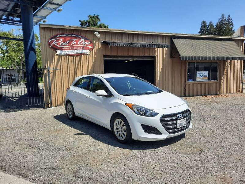 2017 Hyundai Elantra GT for sale at Rent To Own Auto Showroom LLC - Finance Inventory in Modesto CA