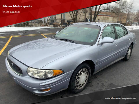2004 Buick LeSabre for sale at Klean Motorsports in Skokie IL