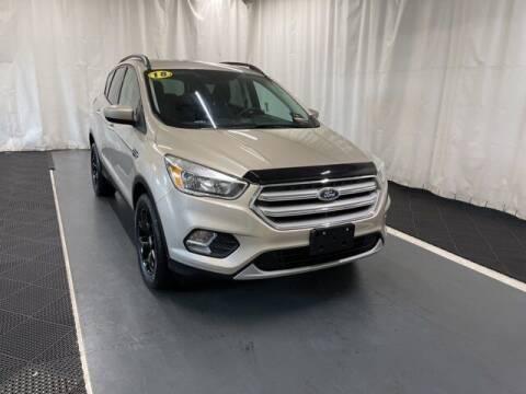 2018 Ford Escape for sale at Monster Motors in Michigan Center MI