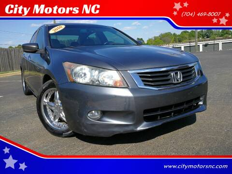 2010 Honda Accord for sale at City Motors NC in Charlotte NC