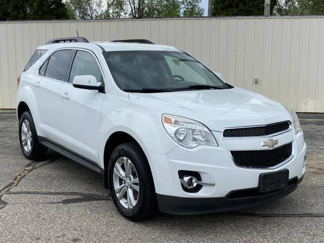 2013 Chevrolet Equinox for sale at Miller Auto Sales in Saint Louis MI