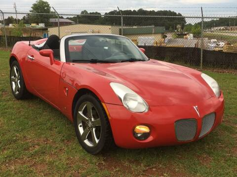 2008 Pontiac Solstice for sale at Atlanta United Motors in Buford GA