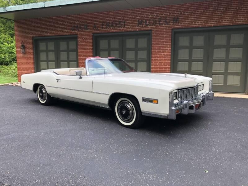1976 Cadillac Eldorado for sale at Jack Frost Auto Museum in Washington MI