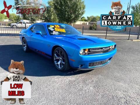 2015 Dodge Challenger for sale at DUKE CITY AUTO SALES in Albuquerque NM