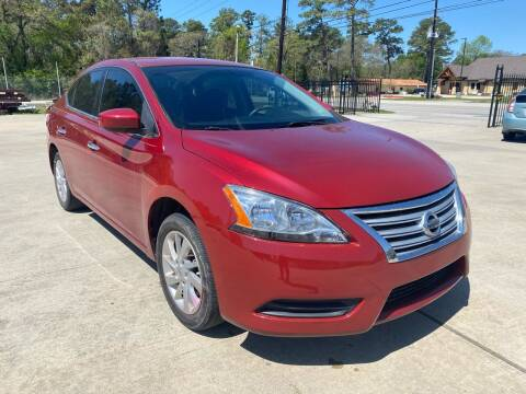 2014 Nissan Sentra for sale at Auto Land Of Texas in Cypress TX