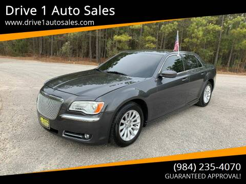 2013 Chrysler 300 for sale at Drive 1 Auto Sales in Wake Forest NC