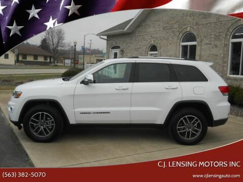 2019 Jeep Grand Cherokee for sale at C.J. Lensing Motors Inc in Decorah IA