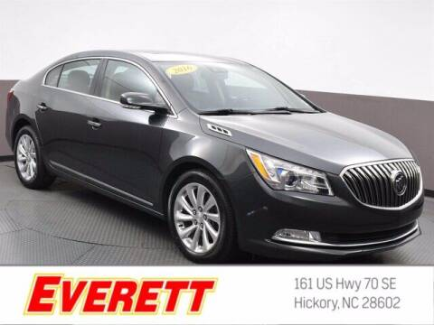 2016 Buick LaCrosse for sale at Everett Chevrolet Buick GMC in Hickory NC