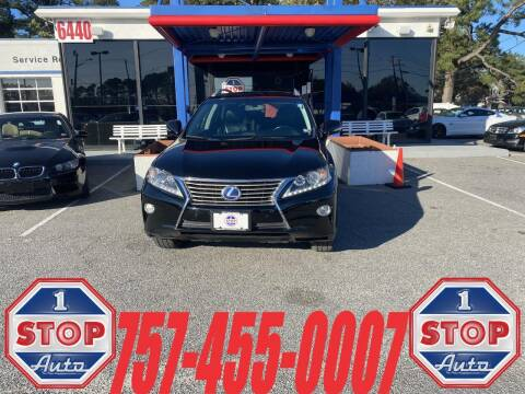 2013 Lexus RX 450h for sale at 1 Stop Auto in Norfolk VA