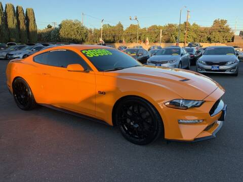 2018 Ford Mustang for sale at Blue Diamond Auto Sales in Ceres CA