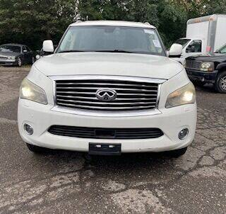 2011 Infiniti QX56 for sale at Utah Credit Approval Auto Sales in Murray UT