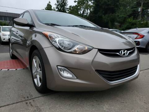 2012 Hyundai Elantra for sale at Moor's Automotive in Hackettstown NJ