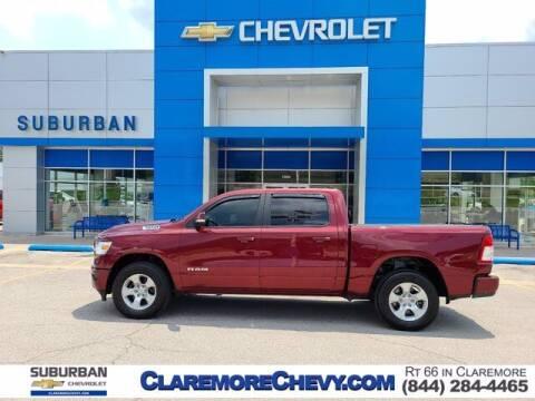 2019 RAM Ram Pickup 1500 for sale at Suburban Chevrolet in Claremore OK