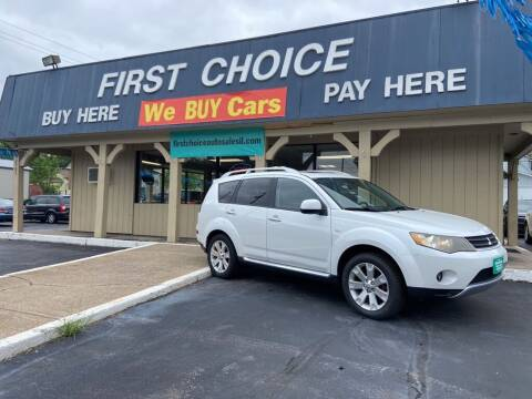 2009 Mitsubishi Outlander for sale at First Choice Auto Sales in Rock Island IL