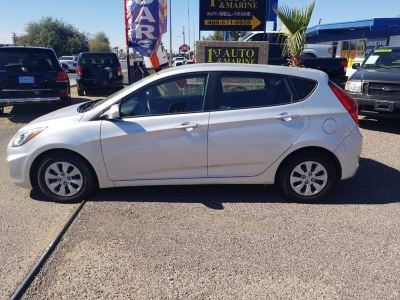 2017 Hyundai Accent for sale at 1ST AUTO & MARINE in Apache Junction AZ