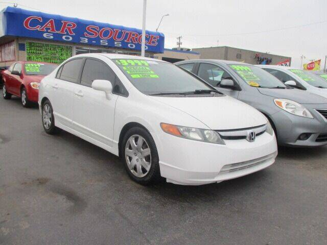 2006 Honda Civic for sale at Car One - CAR SOURCE OKC in Oklahoma City OK