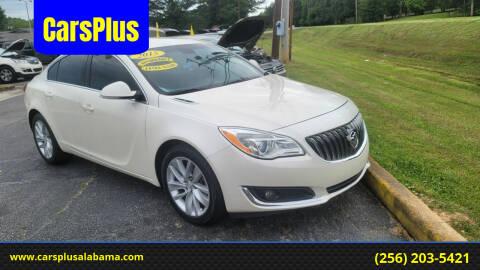 2015 Buick Regal for sale at CarsPlus in Scottsboro AL