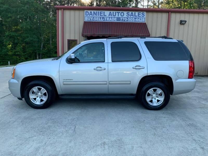 2013 GMC Yukon for sale at Daniel Used Auto Sales in Dallas GA