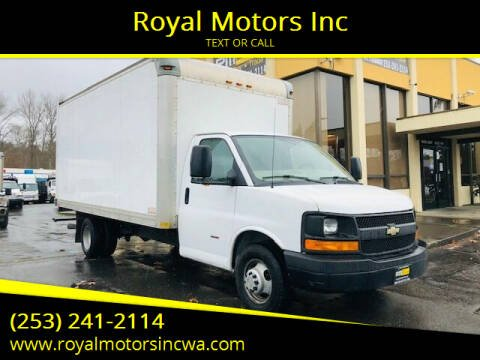 2014 Chevrolet Express Cutaway for sale at Royal Motors Inc in Kent WA