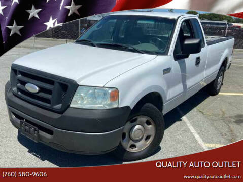 2006 Ford F-150 for sale at Quality Auto Outlet in Vista CA
