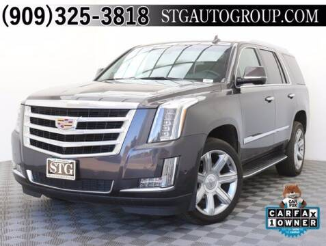 2017 Cadillac Escalade for sale at STG Auto Group in Montclair CA