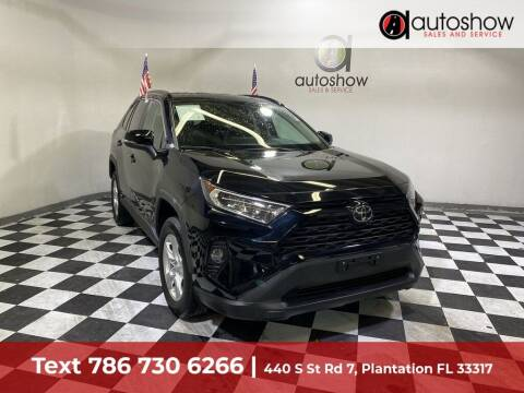 2020 Toyota RAV4 for sale at AUTOSHOW SALES & SERVICE in Plantation FL