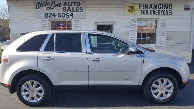 2009 Lincoln MKX for sale at STATE LINE AUTO SALES in New Church VA