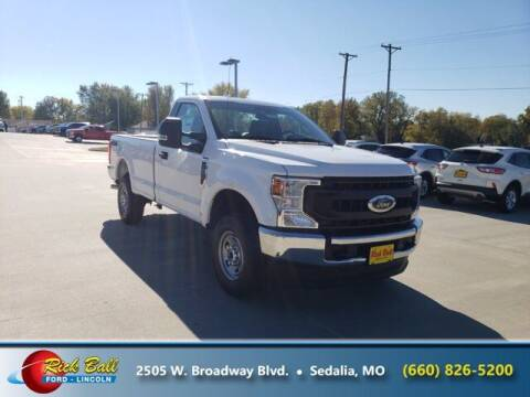 2020 Ford F-250 Super Duty for sale at RICK BALL FORD in Sedalia MO