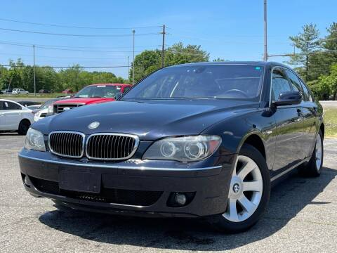 2007 BMW 7 Series for sale at MAGIC AUTO SALES in Little Ferry NJ