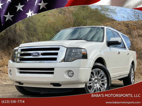 2011 Ford Expedition EL for sale at Baba's Motorsports, LLC in Phoenix AZ