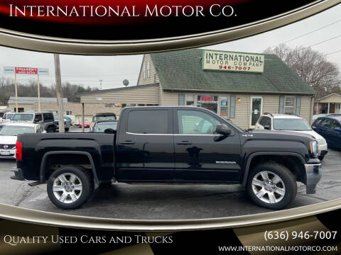 2016 GMC Sierra 1500 for sale at International Motor Co. in St. Charles MO