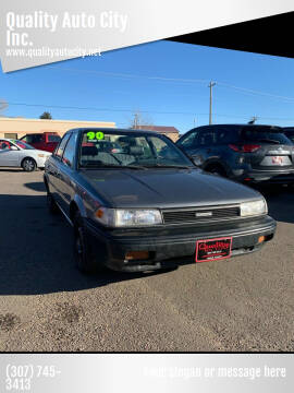 1990 Toyota Corolla for sale at Quality Auto City Inc. in Laramie WY